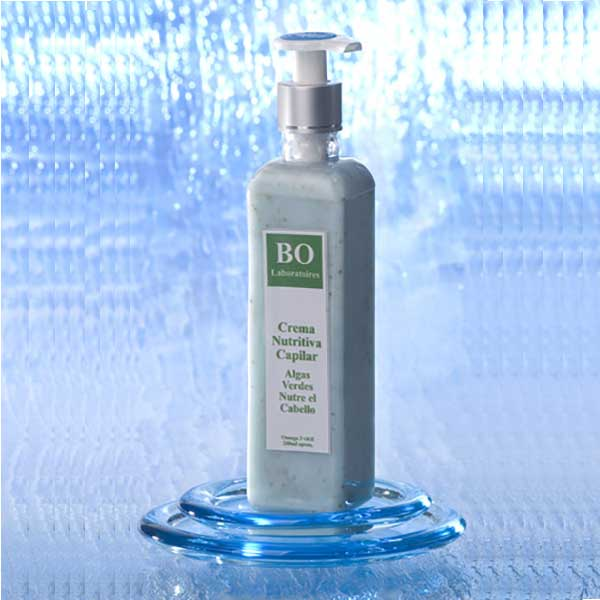 Stop and Reverse Hair Loss: Green Seaweed Nutritive Capillary Cream with Omega 3