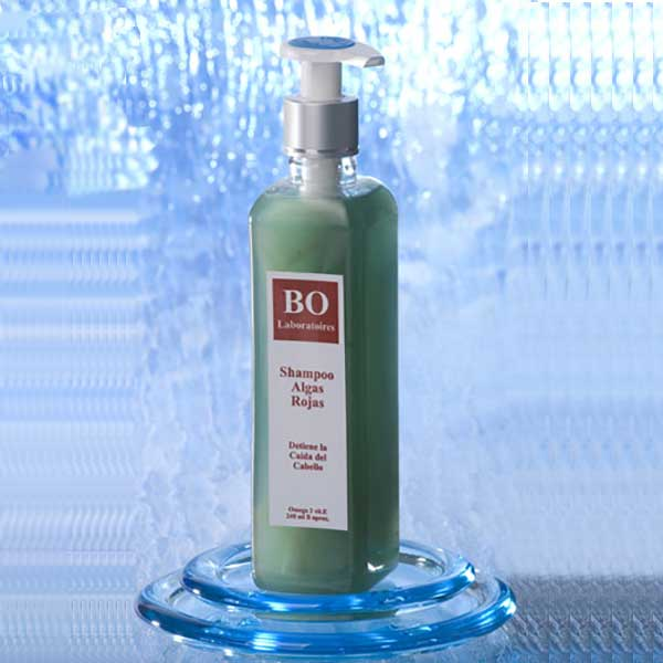 Stop and Reverse Hair Loss: Red Seaweed Shampoo