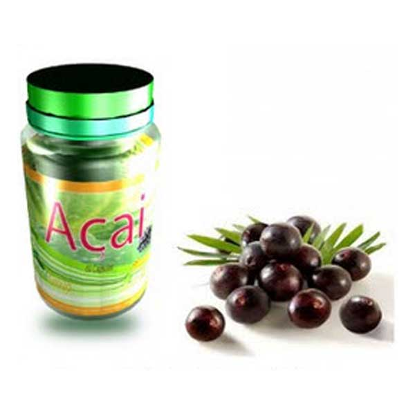 FNL Organic Acai Supplement 60 Caps 500 mg