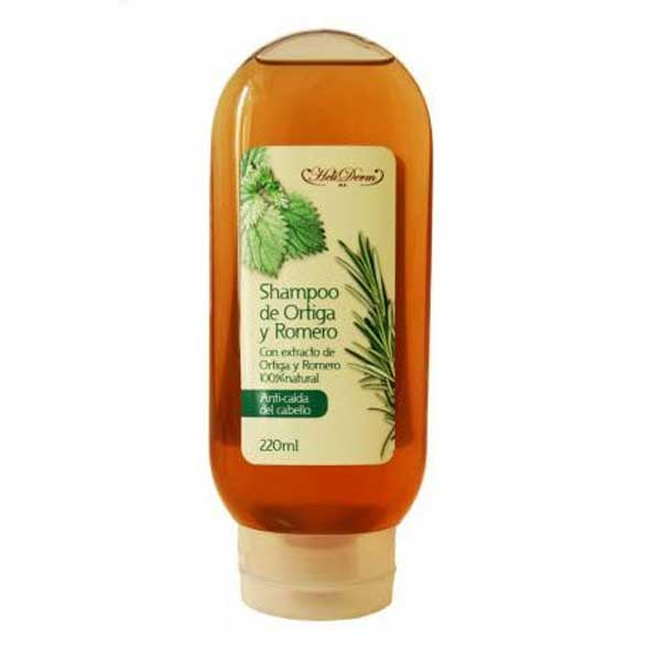 Heliderm Nettle and Rosemary Shampoo to Prevent Hair Loss