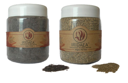 Red and Brown Seaweed Powders for Anti-cellulite