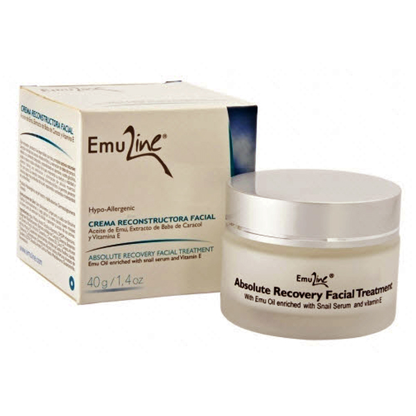 Emuline Absolute Facial Recovery with Snail Serum and Emu Oil