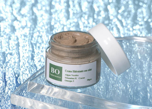 Green Seaweed Moisturizing Tinted Cream with Omega 3