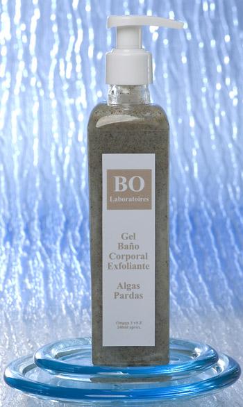 Brown Seaweed Exfoliating Shower Gel