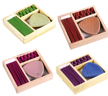 Incense Kit in Wooden Box